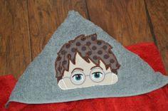 Harry Pooter Custom Hooded towel :: Rumpshakers In-stock Store