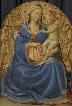 obras de arte download 3 Fra Angelico, Italian Renaissance, Renaissance Art, Religious Icons, Religious Art, Jesus Christus, Life Of Christ, Blessed Mother Mary, Mary And Jesus