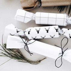 """Mono Online Shop on Instagram: """"Christmas crackers are super easy to make yourself + they are a Christmas table must-have. See link in bio for the tutorial (plus a couple…"""""""