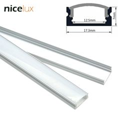 US$14.58  19% off. Limited time only!  5set 1.6ft 0.5m/set U-Shape LED Strip Aluminum Channel Profile for 8mm 10mm 12mm 3528 5050 LED Bar Light Housing with Cover * View this trendy piece in details on  AliExpress.com. Just click the image. #LEDLighting