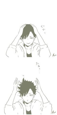 Kuroo's bedhead hair problems