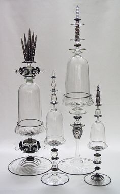 Glass Bell Jars by Andy Paiko