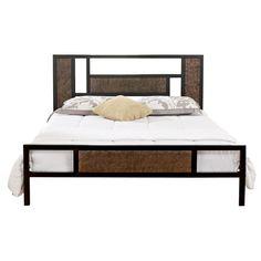 BED: ECO DREAM ONTARIO METAL PLATFORM BED