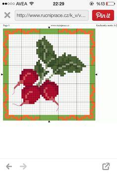 Turp cross stitch