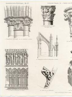 Gothic Architecture Print