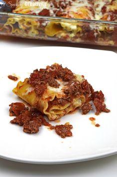 Lasagna Roll Ups - A