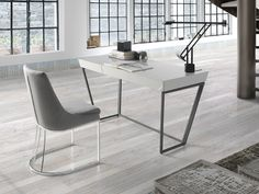 Bureau. Mod. TURIN Office Desk, Furniture, Home Decor, Couches, Mesas, Steel Structure, Drawer, Desk Office, Desk