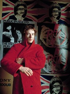 John Lydon, Sheila Rock, 1979.