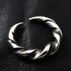 Massive Silver Viking Ring. Reenactment. Medieval. Norse. Scandinavia. SCA.