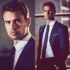 """""""NEW promotional photos of Theo James for for """"Marie Claire Mexico"""" November 2015 issue! (HQ) •