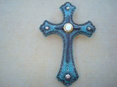 Decorative Cross Doorbell Plate/Cover by dccreations1 on Etsy