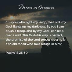 - Psalm 18:25-30