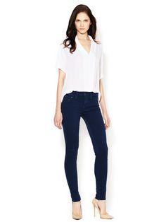 Classic 5-Pocket Skinny Jean   JeanWomen #Pants