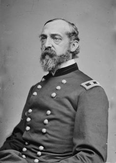 Union - General George Gordon Meade (31 December 1815 - 6 November 1872) was a career United States Army officer and civil engineer involved in coastal construction, including several lighthouses. He fought with distinction in the Second Seminole War and Mexican-American War. During the American Civil War he served as a Union general, rising from command of a brigade to the Army of the Potomac. He is best known for defeating Confederate General Robert E. Lee at the Battle of Gettysburg in 1863