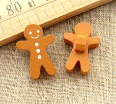 Cute gingerbread man shape