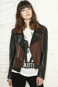 Sparkle & Fade - Veste imprimé animal 104€