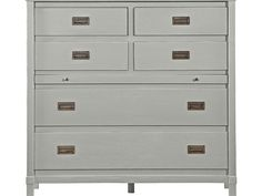 Stanley Furniture Coastal Living Resort 48x21 Morning Fog Haven's Harbor Media Chest | SL062C311
