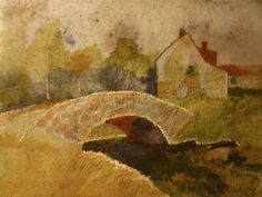 Impressionist landscape painting original by MarciaMcKinzieArt