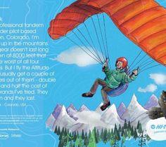 Bespoke illustration for Hi-tec advertising campaign