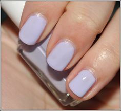Pastel Purple Nail Polish: Essie Lilacism