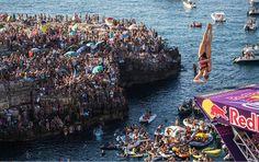 Red Bull Cliff Diving 2016: Favoritos desiludiram na 5ª etapa em Polignano a Mare