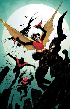 Am I the only one that thinks it'll probably take Batman, Nightwing, AND Red Hood just to break up Robin and Red Robin?