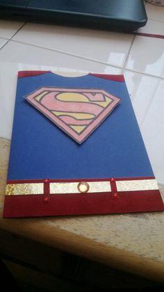Superhero card by BreilaCards on Etsy