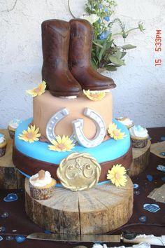 country wedding cake made by Terajo Matthews