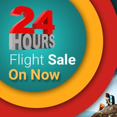 24 Hour Flight Sale On Now,Book your #Tickets with #Flyanytime and make your Time memorable http://www.flyanytime.net/