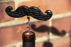 Moustache Corkscrew is a Dapper Way to Uncork Wine -