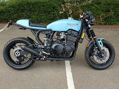 I really have an appreciation for just what these folks designed on this modified Triumph 900, Triumph Cafe Racer, Cafe Racer Motorcycle, Triumph Motorcycles, Custom Motorcycles, Cafe Racers, Cafe Racer Kits, Biker Photography