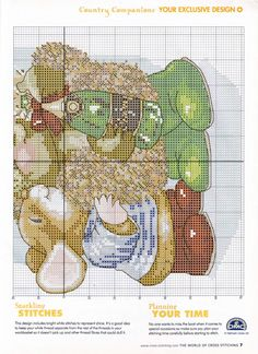Gallery.ru / Photo # 7 - The world of cross stitching 050 October 2001 - tymannost