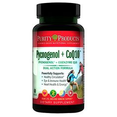 Pycnogenol + Super Formula - Purity Products - USA-Made Kaneka - Supports Heart + Circulatory Health, Healthy Brain and Immune Function - Helps Maintain Healthy Eyes and Skin - 60 Capsules Healthy Eyes, Healthy Brain, Healthy Aging, Gmo Facts, Health And Wellness, Health And Beauty, Noni Juice, Life Extension, Nutritional Supplements
