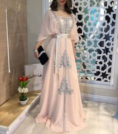General Pink X-line Dress Day Dresses Elegant Polyester Spring Maxi Summer Fall Color Block M L Sleeves XL XXL Square Neckline Dress Day Dresses, Evening Dresses, Wedding Dresses, Afternoon Dresses, Flapper Dresses, Abaya Fashion, Fashion Dresses, Gothic Fashion, Elegant Dresses