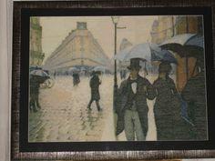 Calle de París, día lluvioso *Gustave Caillebotte Hecho en 2010