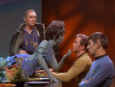 Mr Spock does not approve of green Orion slave girls
