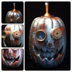Your place to buy and sell all things handmade Steampunk Halloween, Halloween Jack, Holidays Halloween, Happy Halloween, Steampunk Witch, Fall Pumpkins, Halloween Pumpkins, Halloween Crafts, Halloween Decorations