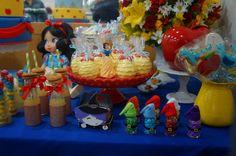 Lilá Criando Idéias: Decoração de festa infantil - Branca de Neve