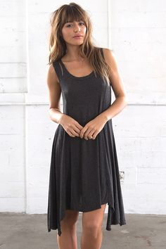 Go To Dress - Charcoal