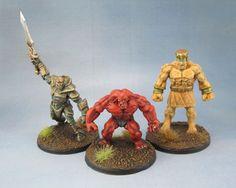 77170: Clay Golem, 77168: Bones Battleguard Golem, 77171: Stone Golem