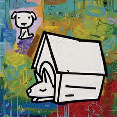 Let sleeping dogs lie (ART ID# 7518) by David Kuijers