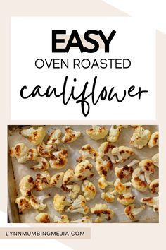 These are the best and easy oven-roasted cauliflower recipe out there! The olive oil helps the cauliflower crisp up and the cumin elevates its flavour! It is the perfect dinner recipe for vegan and vegetarian guests as well as the perfect side for all meals. The seasoning mix for this roasted cauliflower recipe is super easy and anyone can do it! Read the full recipe on Easy Roasted Cauliflower on the blog now! #roastedcauliflower #cauliflower #vegetarianmeal #veganmeal #vegetariansidedish Quick Vegetarian Meals, Vegetarian Side Dishes, Oven Roasted Cauliflower, Cauliflower Recipes, Seasoning Mixes, Grilled Meat, Tray Bakes, Vegan Recipes, Dinner Recipes