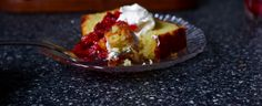 olive oil cake with red oranges