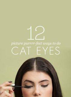 Cat-eye swoon! #beauty