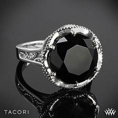 Tacori Black Lightning Black Onyx Ring