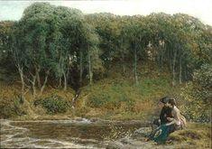 john dawson lovers by a lake - Google Search