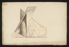 Joseph Mallord William Turner, 'Lecture Diagram 20: Conic Sections (after Thomas Malton Senior)' c.1810