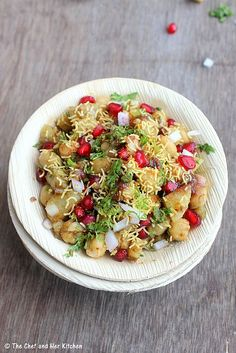 THE CHEF and HER KITCHEN: ALOO CHANA CHAAT | CHAAT RECIPES - A Guest Post for Cakes and More