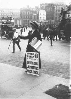 Votes for Women - c1913  #TheRadWomenCollective #StilettoSandwich