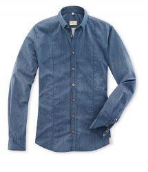 Q1 Hemd SANDRO in Denim-Optik in 100% Baumwolle Sandro, Shirt Dress, Denim, Mens Tops, Shirts, Shopping, Dresses, Fashion, Fall Winter